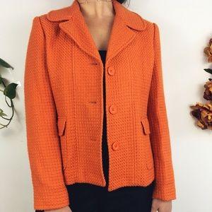 Knit Apricot Blazer